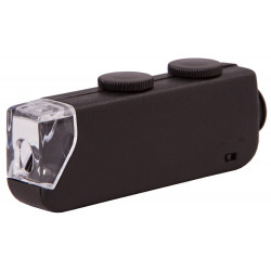 Микроскоп карманный Bresser 60x-100x со светодиодной подсветкой